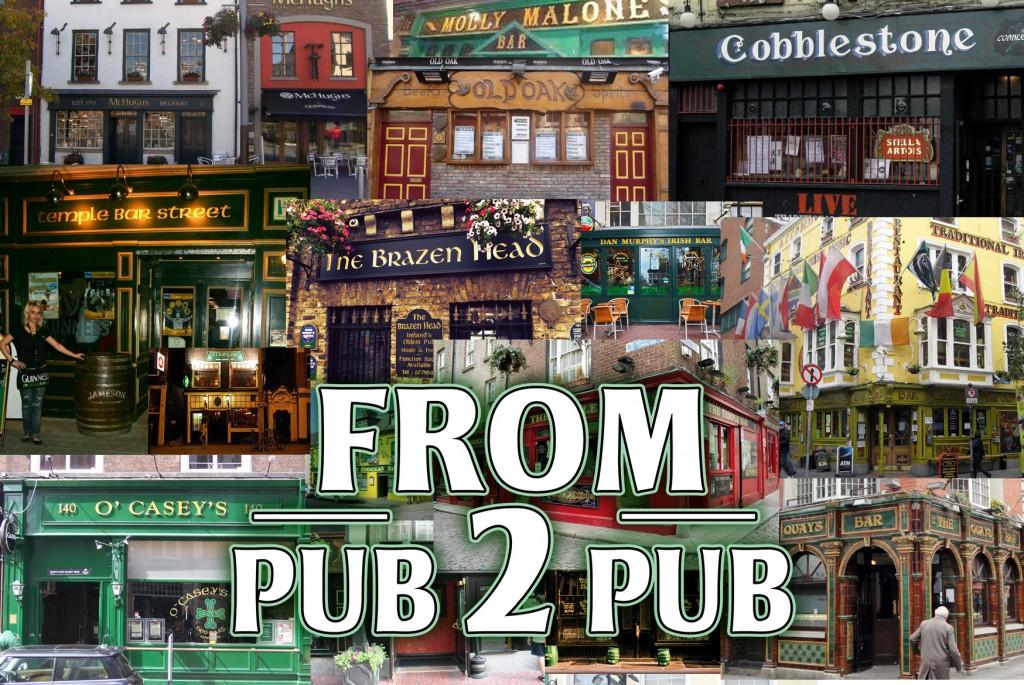 Ierse muzikale feestshow From-Pub-2-Pub-BIG