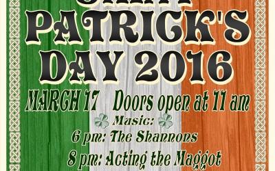 O Sheas Irish Pub Den Haag met Acting The Maggot