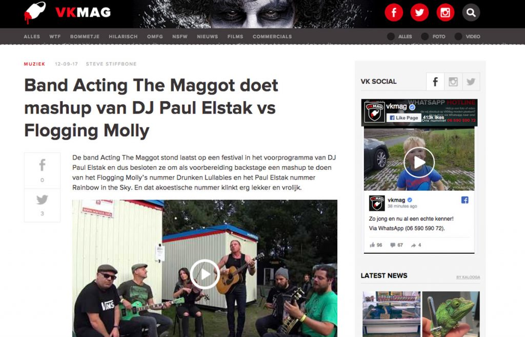 Paul Elstak Flogging Molly VKmag.com