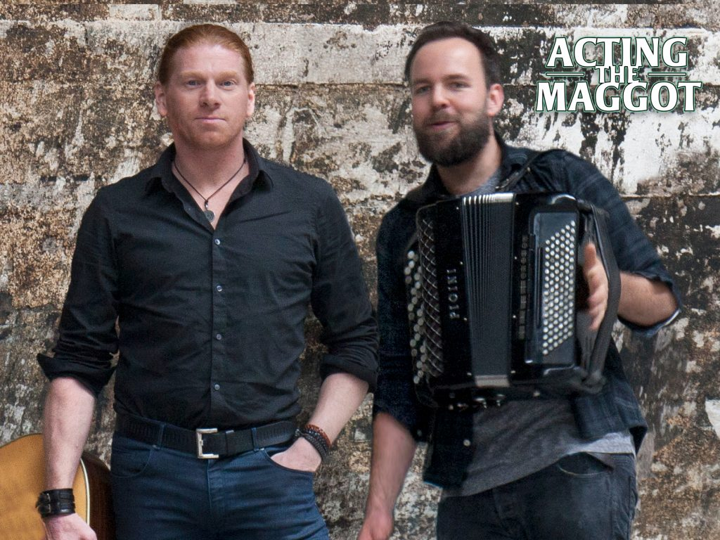 Acting The Maggot Duo with Maarten de Gans and Tom van Aarle