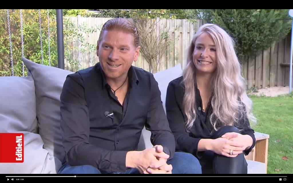 Maarten en Daniëlle bij RTL4 Editie NL
