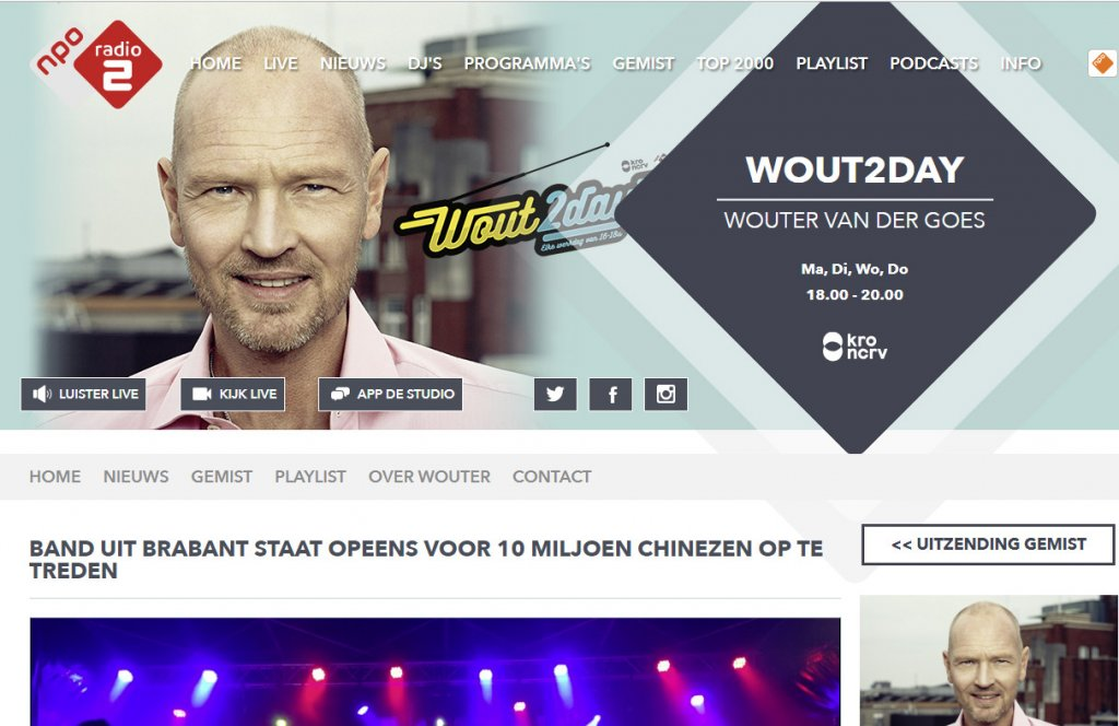 Acting The Maggot op Radio 2NL