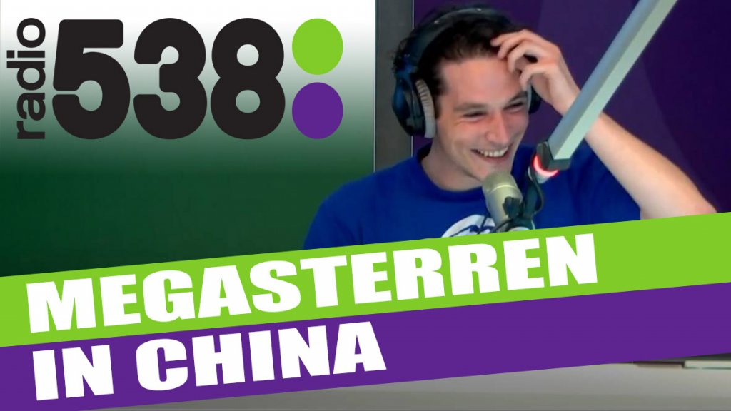 Daniel Lippens Radio 538 - Interview China