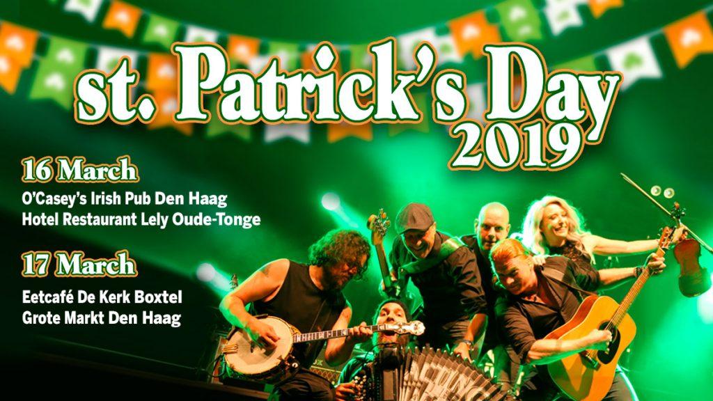 St.Patrick's Day Grote Markt Den Haag 2019 Acting The Maggot