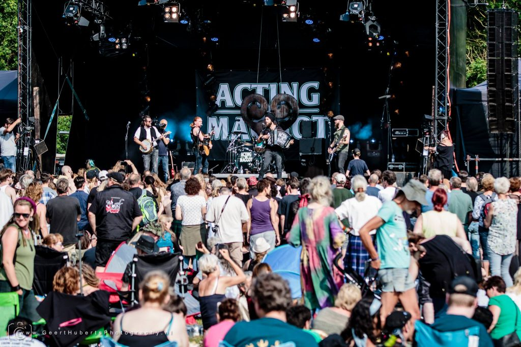 Acting The Maggot - Zomerfolk 2018 © Geert Huberts