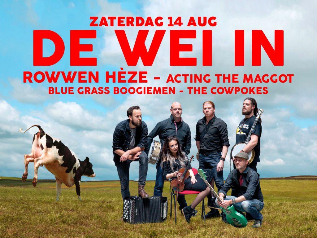 Rowwen Heze en Acting The Maggot gaan De Wei In